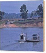 Saltilla Tennessee River Ferry - 2 Wood Print
