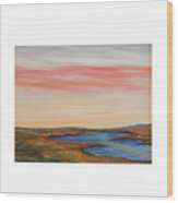 Saltpond Walk Wood Print