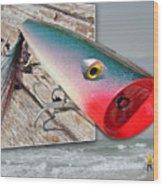 Saltwater Fishing Wood Print