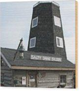Salty Dawg Saloon Wood Print