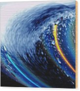 Salty Lux Wave Wood Print