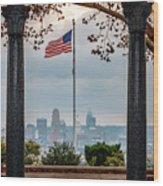 Salute To Cincinnati Wood Print
