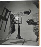 Salvador Dali  Wood Print