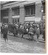 Salvation Army, 1908 Wood Print