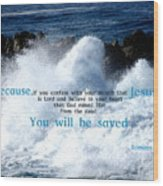 Salvation1 Wood Print
