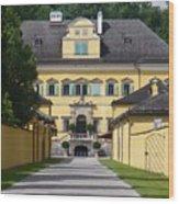 Salzburg Chateau Wood Print