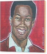 Sam Cooke Wood Print