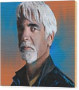 Sam Elliott Wood Print
