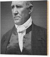 Sam Houston  1849 Wood Print