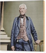 Sam Houston Wood Print