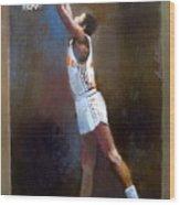 Sam Mitchell Nba Player Head Coach Toronto Raptors Wood Print