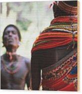 Samburu Tribe Wood Print