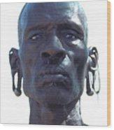 Samburu Warrior In Kenya Wood Print