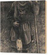 Same I Skogsbryn Wood Print