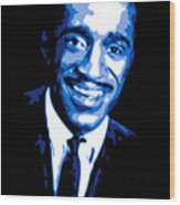 Sammy Davis Wood Print by DB Artist