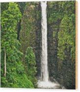 Samoan Falls 2 Wood Print