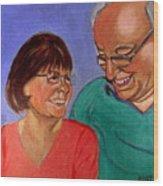 Samson And Delia Wood Print