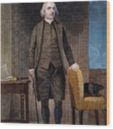Samuel Adams (1722-1802) Wood Print