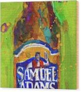 Samuel Adams Boston Ale Wood Print