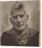 Samuel Beckett 2 Wood Print