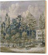 Samuel Fleet Homestead Wood Print
