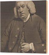 Samuel Johnson Wood Print