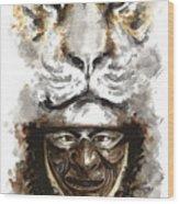 Samurai - Warrior Soul. Wood Print