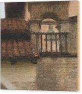 San Antonio Bell II Wood Print