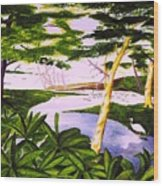 San Blas Jungle Wood Print