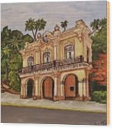 San Carlos Institute Wood Print