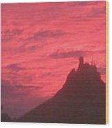 San Carlos Sunset Wood Print