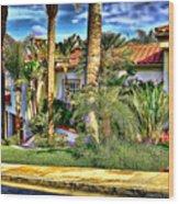 San Clemente Estate 3 Wood Print