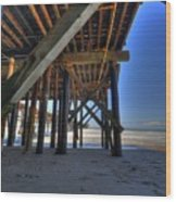 San Clemente Pier Wood Print by Kelly Wade
