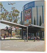 San Diego Air And Space Museum Wood Print
