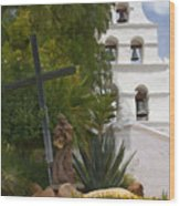 San Diego Mission Bells Wood Print