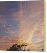San Diego Sunsrise 1 7/12/15 Wood Print