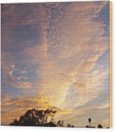 San Diego Sunsrise 3 7/12/15 Wood Print