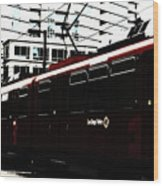 San Diego Trolley Wood Print