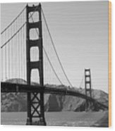San Fran Architectural Gem Wood Print