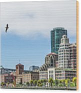 San Francisco Waterfront Wood Print