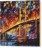 San Francisco - Golden Gate Wood Print