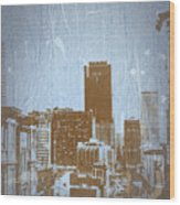 San Francisco 2 Wood Print