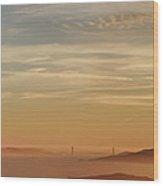 San Francisco Bay Area Panorama Wood Print