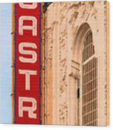 San Francisco Castro Theater Wood Print by Wingsdomain Art and Photography