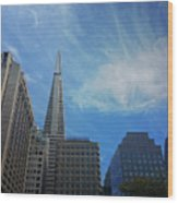 San Francisco Cityscape Wood Print