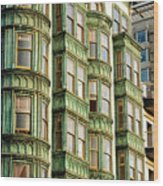 San Francisco Color Wood Print