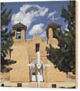 San Francisco De Asis Wood Print