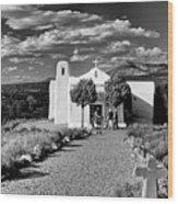 San Francisco De Assisi, Golden, New Mexico, March 11, 2017 Wood Print