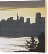 San Francisco - From Tamalpais East Wood Print