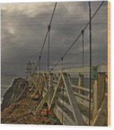 San Francisco Lighthouse Wood Print
